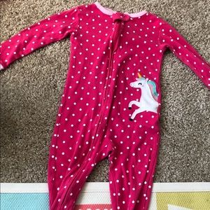 Carters footed pajama 24 months